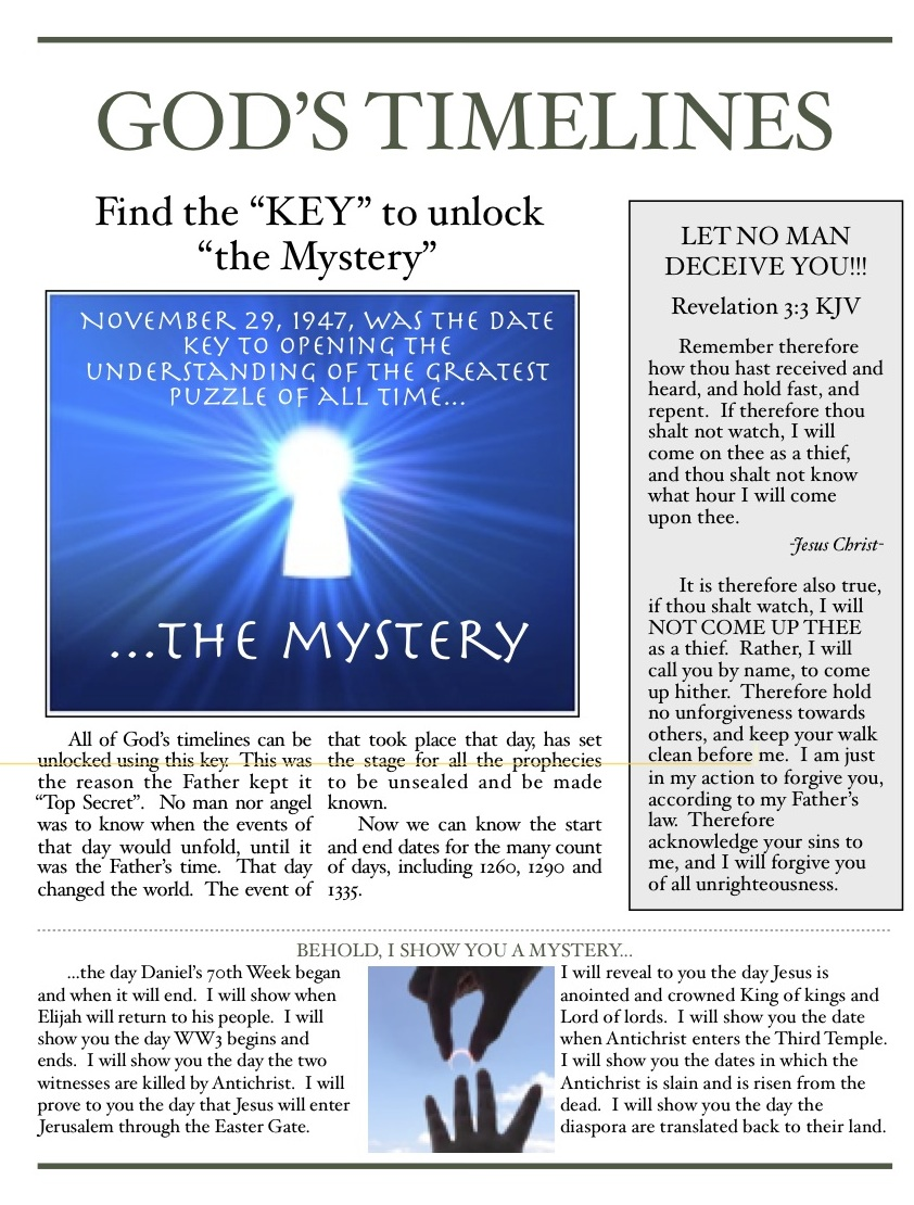 The key to the mystery 5